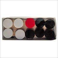 Acrylic Carrom Coins