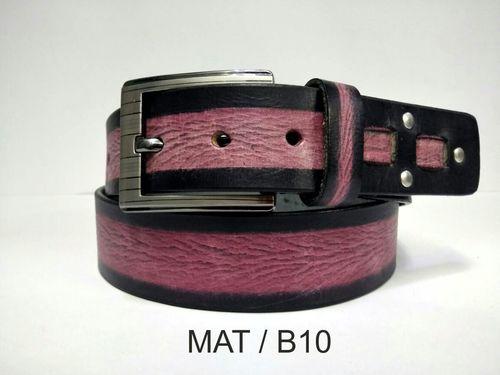 Leather Double Colour Belt