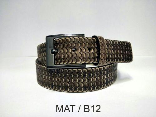 Leather Hand Tooled Belt