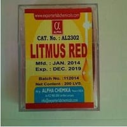 AL2308A - Litmus Red Indicator Paper