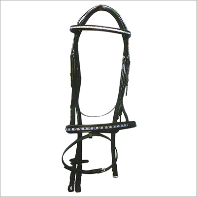 Fancy Bridle with Browband & chain