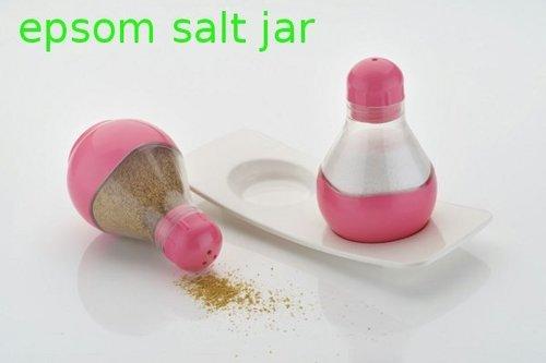 epsom salt jar