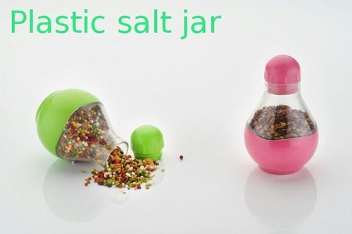 Plastic Salt Jar