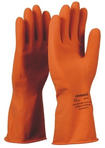 Rubber Hand Gloves with grip