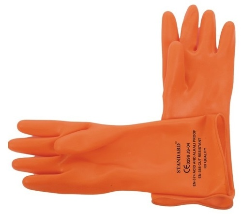 Post Mortem type Rubber Hand Gloves