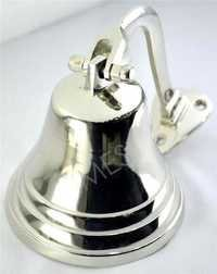Nautical Brass Chrome Ship Bell