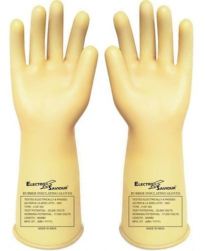 Electrical Insulated Seamless Gloves