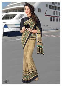 Airport Uniform Saree