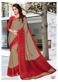 Printed Work Saree