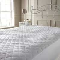 Beige Waterproof mattress protector