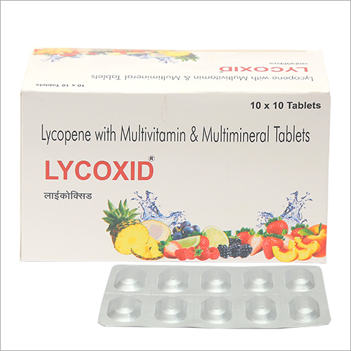 LYCOPENE TABLET WITH ZEA XANTHINE