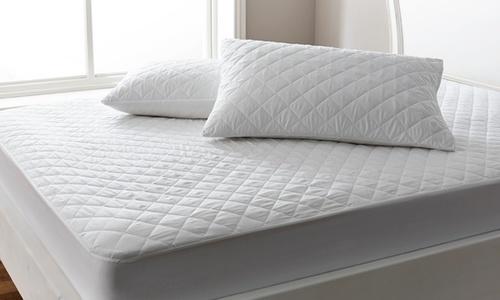 Grey waterproof Pillow Protector