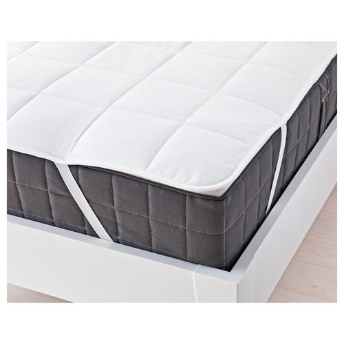 Feather down mattress topper