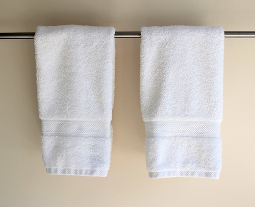 soft white Hand towel
