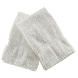Pure white Face towel