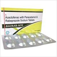 Aceclofenac + Paracetamol + Rabeprazole Tablets