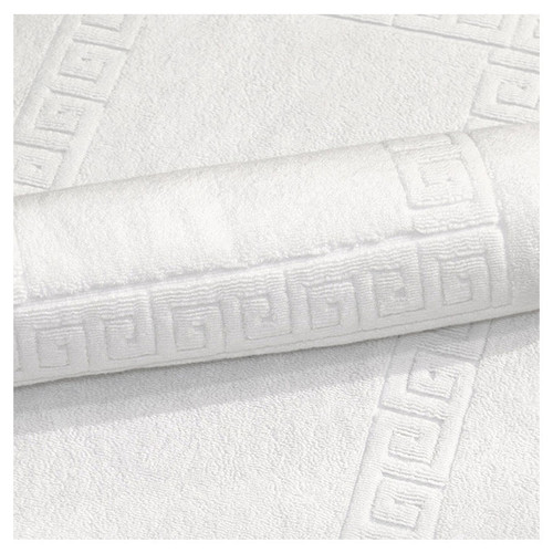 Pure white Bath Mat