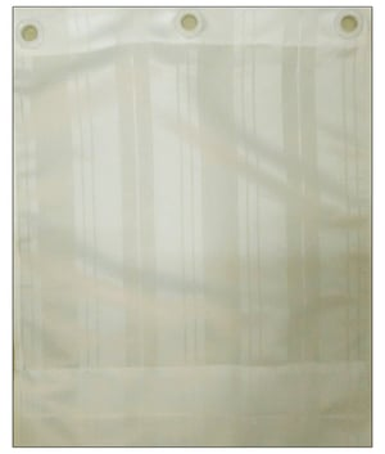 Cream  Shower Curtain