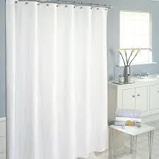 Regular stripe shower curtain