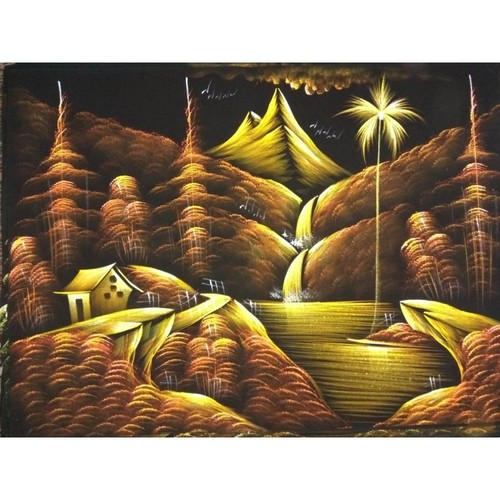 Golden Nature Paintings