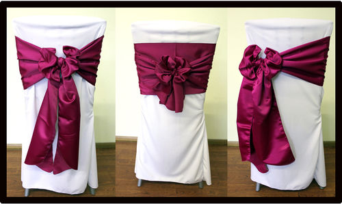 Wedding chair bow