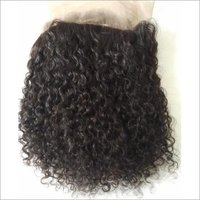 Natural Deep Curly Transparent Lace 360 Frontal