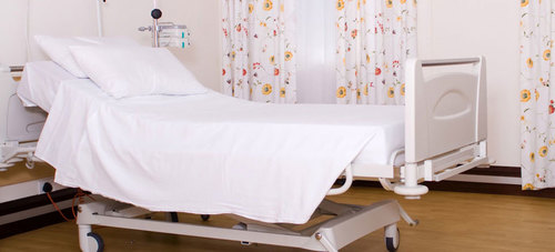Cotton Hospital Fitted Bed Sheet