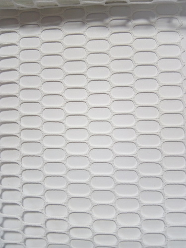 Ovel Net Fabric White