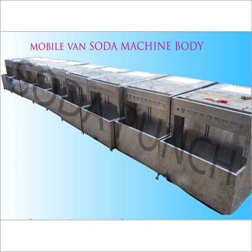 Mobile Van Soda Machine Body