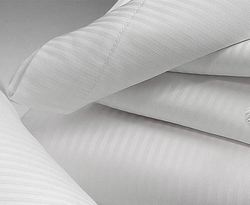 White Stripe cotton fabric