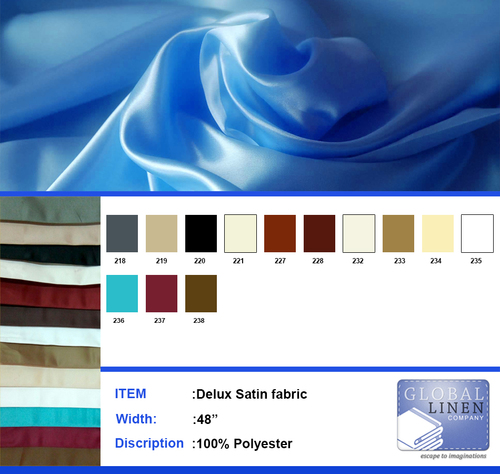 Deluxe Satin fabric