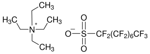 Heptadecafluorooctanesulfonic acid solution
