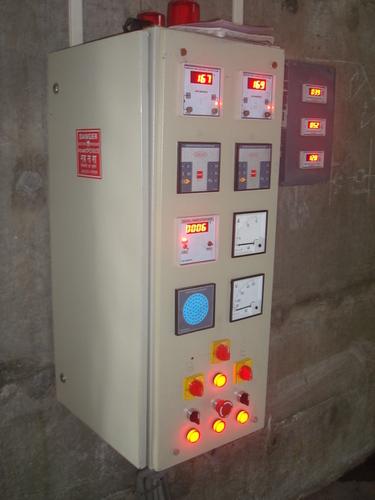 Cremation Furnace (control panel)