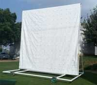 Canvas Cricket Sight Screen ( Black & White)