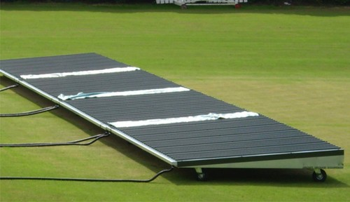 Mobile Single Slop Cricket Pitch Cover
