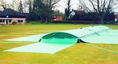 Mobile Insertable Cricket Pitch Cover