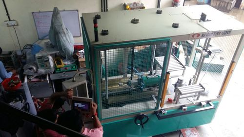 Automatic Gas Cylinder Welder
