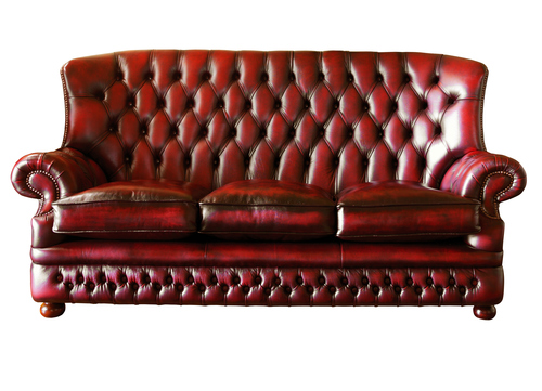 Vintage Luxury Leather Sofa