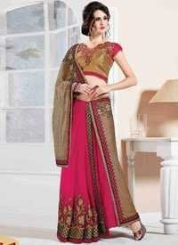 Vibrant Design Saree