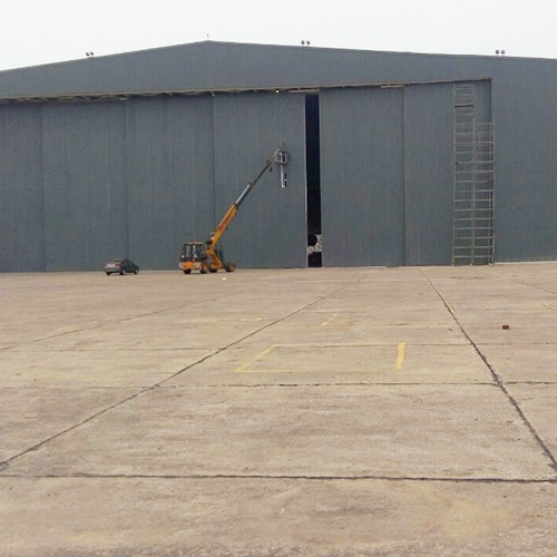 Industrial Hangar Door