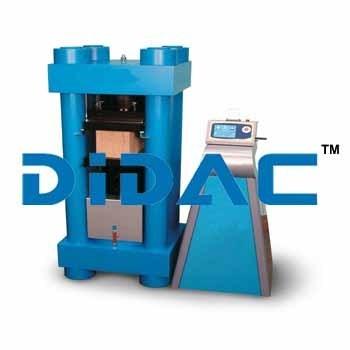 Concrete Compression Machine 5000 KN Motorized
