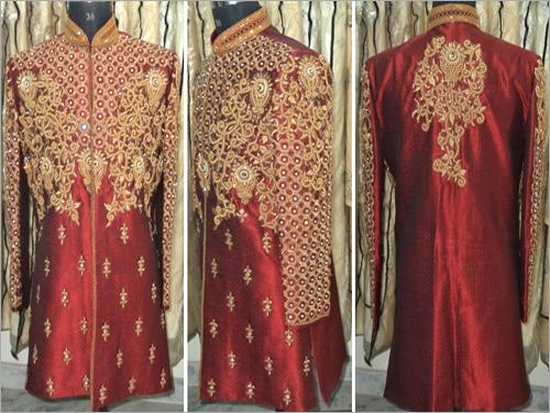 Wedding Designer Indo Western Sherwani
