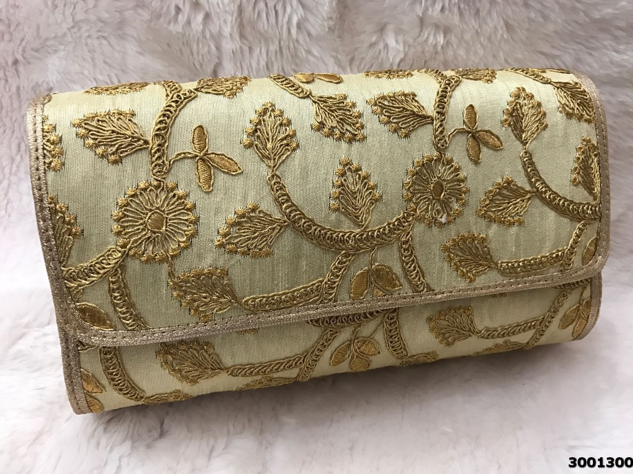 Beautiful Embroidered Ethnic Clutch Bag