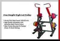 free weight high lat pulley