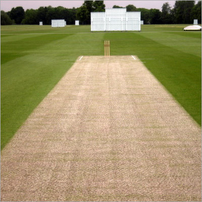 Construction Of Special Cricket Turf Pitch