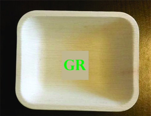 5' - 6'  Inches Areca Leaf Rectangle Bowl