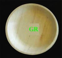 7' Inches Areca Leaf Round Plate