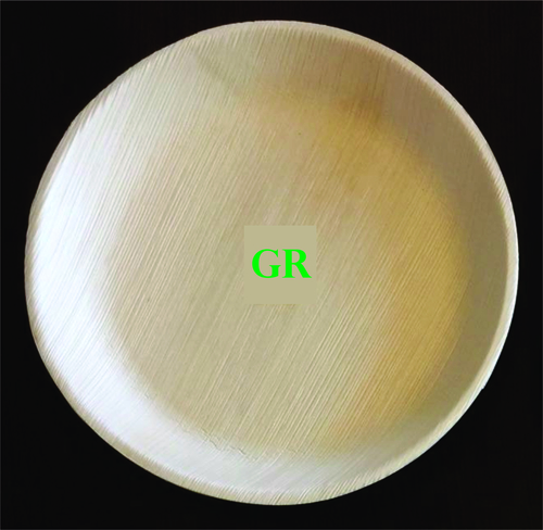 10' Inches Areca Leaf Round Plate
