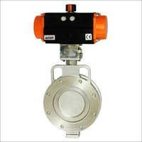 Off-Set Disc Butterfly Valve-Spherical Disc Valve