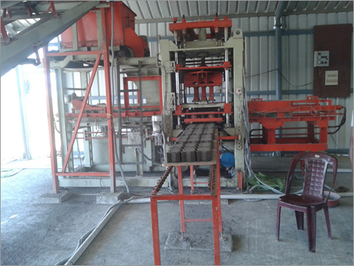Automatic Concrete Blocks Machine /ENDEAVOUR-iC500